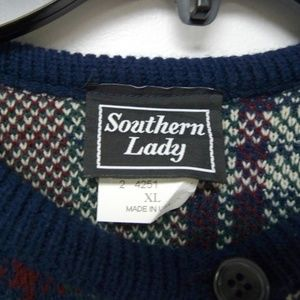 Southern Lady Sweaters - Southern Lady knit cardigan . made in USA